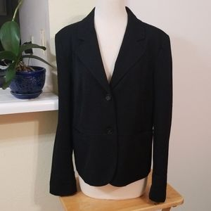 Charter Club Black Womans Suit With Pockets